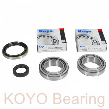 KOYO 526/522 tapered roller bearings